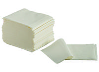 Туалетная бумага в листах Luxe белая 300 листов.