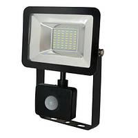 LED прожектор с датчиком движения PUMA/S-20 20W IP65 6400K HOROZ ELECTRIC