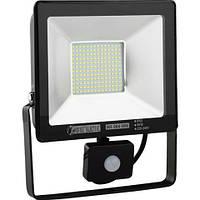 LED прожектор с датчиком движения PUMA/S-50 50W IP65 6400K HOROZ ELECTRIC
