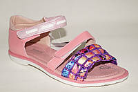 Детская летняя обувь. Босоножки на девочек с твердым задником от фирмы Tom.M 0555H (8 пар, 32-37)