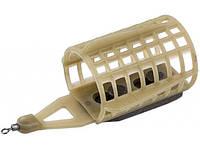 Кормушка фидерная Brain Клетка XL пластиковая Съемный груз 14гр