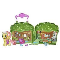 Коттедж Флатершай (Fluttershy Cottage Playset)- игровой набор, Дружба - это чудо, My Little Pony, Hasbro