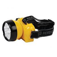 LED Фонарь налобный HOROZ ELECTRIC BECKHAM-2 HL347L 220V 0,7W 7LED