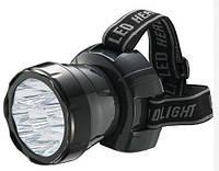 LED Фонарь налобный HOROZ ELECTRIC BECKHAM-4 HL349L 220V 0,9W 9LED