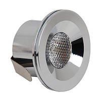 LED Светильник точечный HOROZ ELECTRIC мат.хром MIRANDA HL666L 3W 2700K