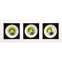 LED Светильник точечный HOROZ ELECTRIC SABRINA-24 HL6723L 3*8W 2700К