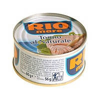 Тунец в собственном соку Rio Mare Tonno Al Naturale, 80 гр.
