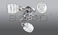 Люстра BUKO (119113) 3*Е14 хром D520*H130мм