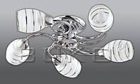 Люстра BUKO (119115) 5*Е14 хром D520*H130мм