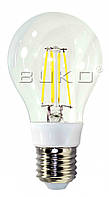 LED FILAMENT Лампа BUKO WT233/6W/5000K классика E27 600Lm