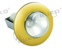 Светильник точечный BUKO WT605 R-63 E27 золото, хром