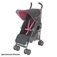 Детская прогулочная коляска-трость Maclaren Quest Charcoal/Primrose