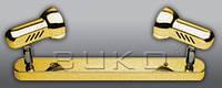 Подсветка BUKO SPOTLIGHT WT920-2*100W E27 хром, мат.хром, золото
