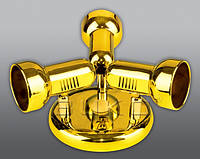 Подсветка BUKO SPOTLIGHT WT935-3*40W E14 (круг) хром, мат.хром, золото