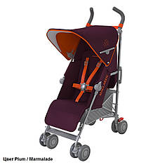 Детская прогулочная коляска-трость Maclaren Quest Plum/Marmelade