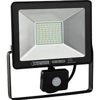 LED прожектор с датчиком движения PUMA/S-30 30W IP65 6400K HOROZ ELECTRIC