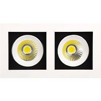 LED Светильник точечный HOROZ ELECTRIC SABRINA-16 HL6722L 2*8W 2700К