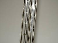 Пипетка мерная с делениями 2 мл, полный слив, ГОСТ 1770-64, белая шкала, Полтава, логотип ромб