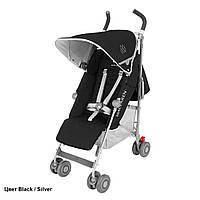 Детская прогулочная коляска-трость Maclaren Quest Black/Silver