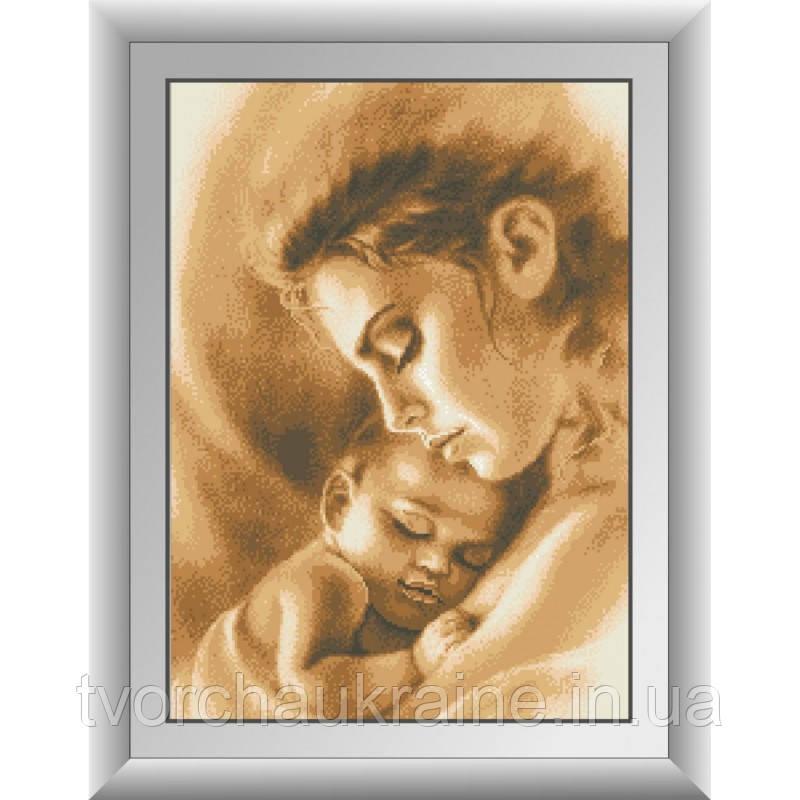 Любовь матери. Dream Art. Набор алмазной живописи (квадратные, полная) 30259
