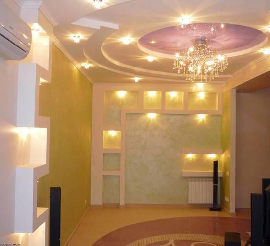 Обшивка стен гипсокартоном с установкой металлокаркаса - Империя мозаики в Одессе