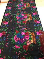 Доріжка килимова Квіткова ткана ручної роботи шерстяна 392*172см