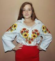 Заготовка жіночої сорочки для вишивки нитками/бісером БС-30