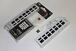 USB HUB (концентратор) 7 портов с выключателями, фото 3