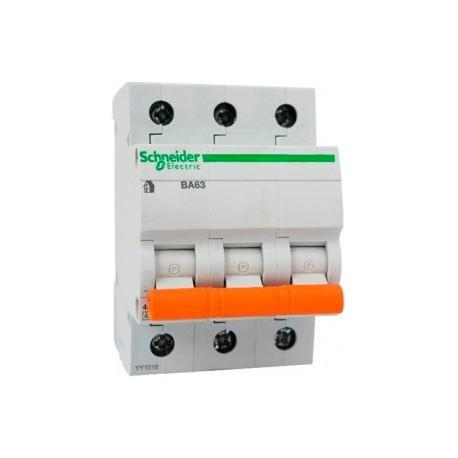 Автоматический выключатель ВА63 3П 25A C Schneider Electric