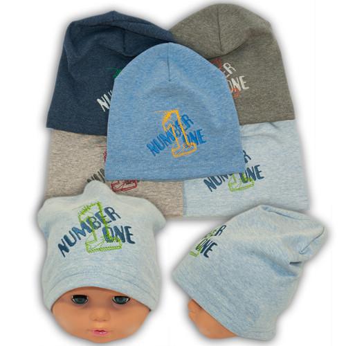 Детские шапки из трикотажа, 701