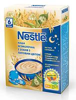 Безмолочная каша Nestle Помогайка из 5 злаков с липовым цветом с 6 месяцев 200 гр.