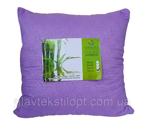 Подушка Бамбук 70*70 Главтекстиль, фото 2