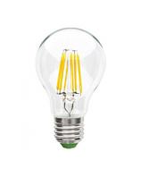 LED Filament лампа HOROZ ELECTRIC GLOBE-6 6W E27 A60 4200К (классика)