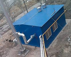 Блочно-модульные котельные (водогрейные, паровые) на твердом топливе