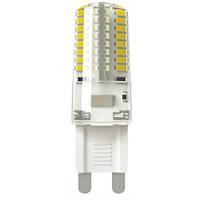 LED лампа HOROZ ELECTRIC MEGA G9 5W 220V 2700K (силикон)