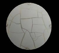 Люстра Sirius 093 С/2СФ300 C300/2R*E27* алюминий+стекло