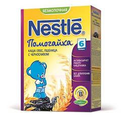 Безмолочна каша Nestle Помогайка Овес пшениця чорнослив 200 гр.