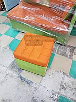 Пуф стёганный с ящиком, фото 1
