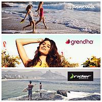 Бразильская летняя обувь Ipanema-Rider-Grendha
