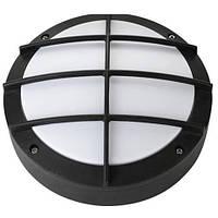 LED светильник  пылевлагозащитный HOROZ ELECTRIC ALTAY IP54 12W 4000K круг с решеткой