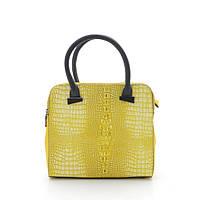 Женская сумка желтая