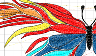Разработка программ для вышивки на халатах и полотенцах