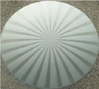 Люстра Sirius 059 С/1WФ-300 W300/1*E27* алюминий+стекло