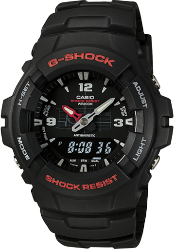 Часы Casio G-Shock G-100-1BV
