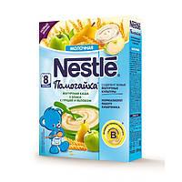 Молочная йогуртная каша Nestle Помогайки Мультизлаковая с грушами и яблоками с 8 месяцев 200 гр.