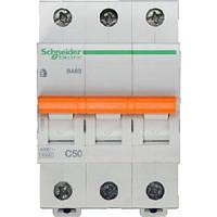 Автоматический выключатель ВА63 3П 50A C Schneider Electric