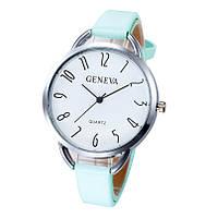Модные наручные часы браслет (Бирюза)