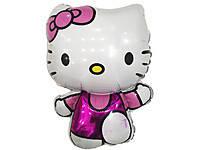 "Фольгированный воздушный шарик Hello Kitty ""Китти"" 80 х 54 см."