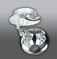 Люстра BUKO LED (180111) 1*5W хром+хром D310*H240мм