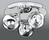 Люстра BUKO LED (180113) 3*5W хром+хром D350*H240мм